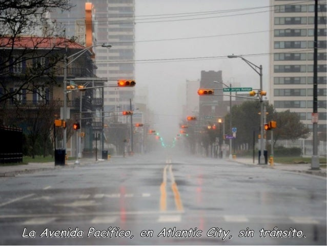 La Avenida Pacífico, en Atlantic City, sin tránsito.