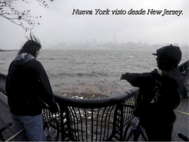 Nueva York visto desde New Jersey.