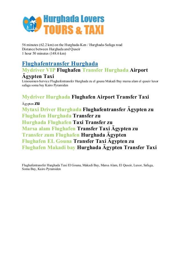 Hurghada airport transfers price list Slide 3