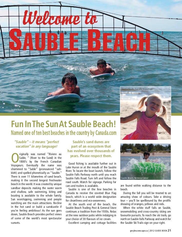 Sauble Beach, Danielle MulasmajicSauble Beach, Nemesia CabralFun In The Sun At Sauble Beach!Named one of ten best beaches ...