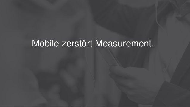 Mobile zerstört Measurement.