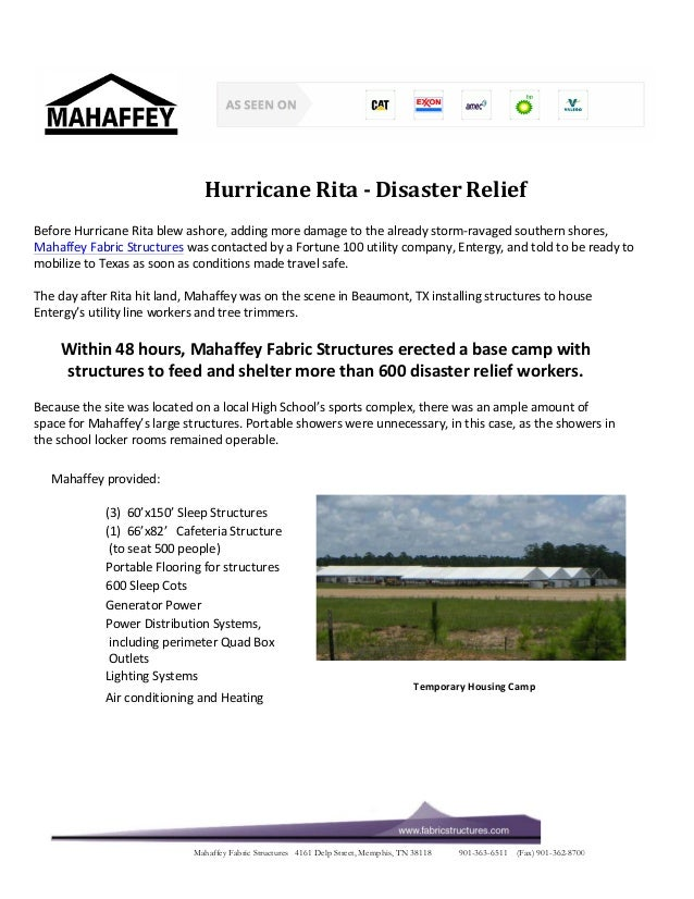 Hurricane  Rita  -­‐  Disaster  Relief  Before  Hurricane  Rita  blew  ashore,  adding  more  damage  to  the  already  st...