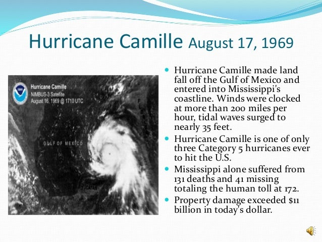 Image result for hurricane camille hit gulf coast