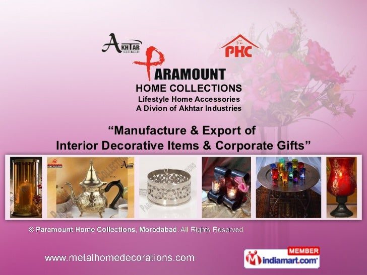 Home Interior Products by Paramount Home Collections, Moradabad