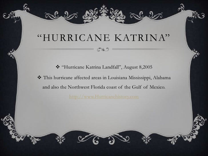 research papers on katrina Start studying english iii research paper flashcards(hurricane katrina) learn vocabulary, terms, and more with flashcards, games, and other study tools.