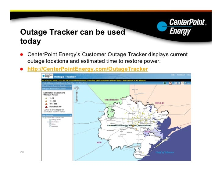 CenterPoint Energy: Preparing for a Hurricane and its Aftermath