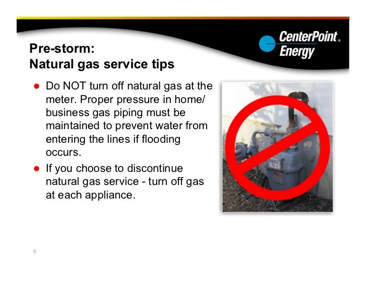 Centerpoint Energy Preparing For A Hurricane And Its