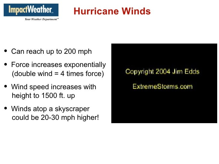 Impact Weather Presentation for Fort Bend County
