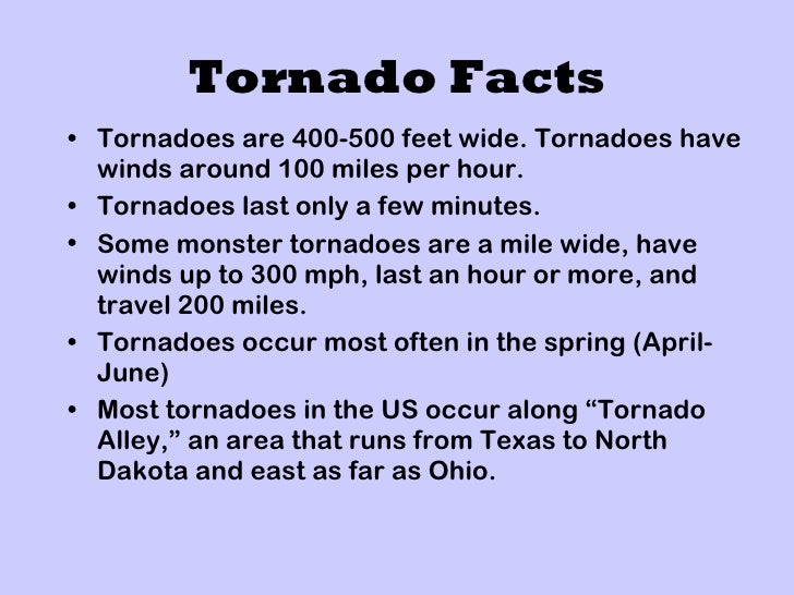 12 Extreme Facts About Tornadoes