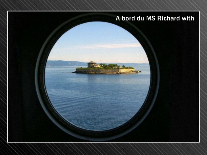 A bord du MS Richard with