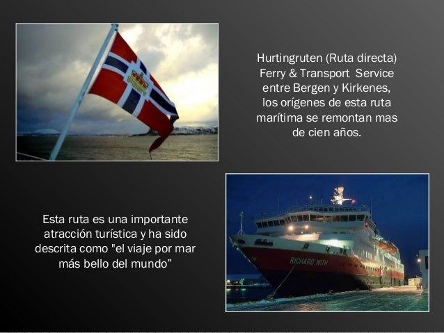 Hurtingruteng   Noruega Slide 2