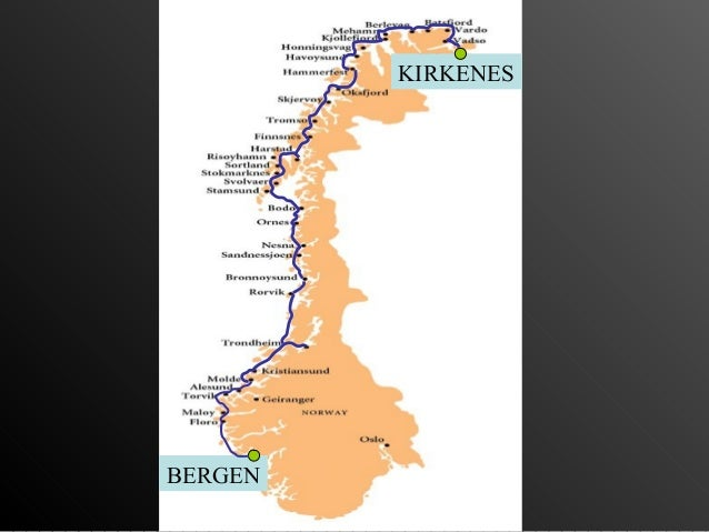 Hurtingruteng   Noruega Slide 3