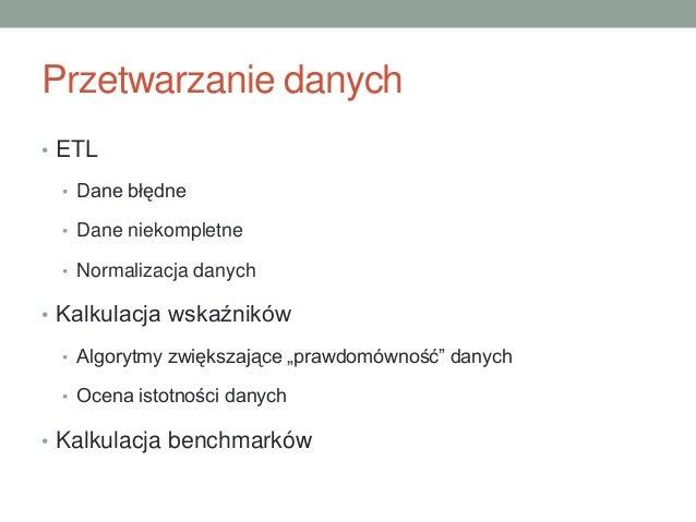 Marek Wesołowski - Hurtownia danych w zarządzaniu ochroną zdrowia Slide 3