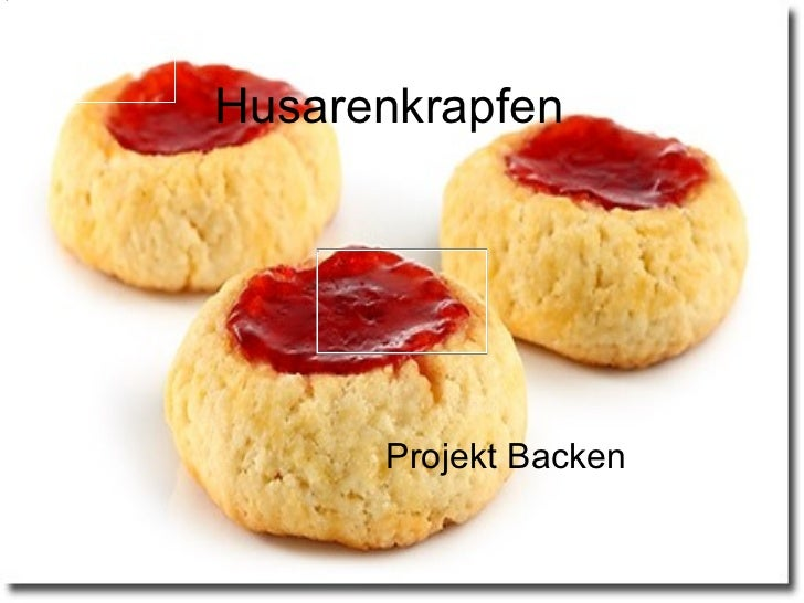 Husarenkrapfen Projekt Backen