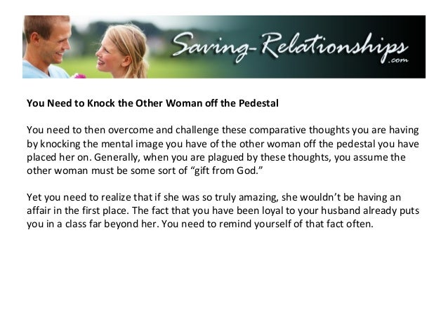 How To Get Over Being The Other Woman