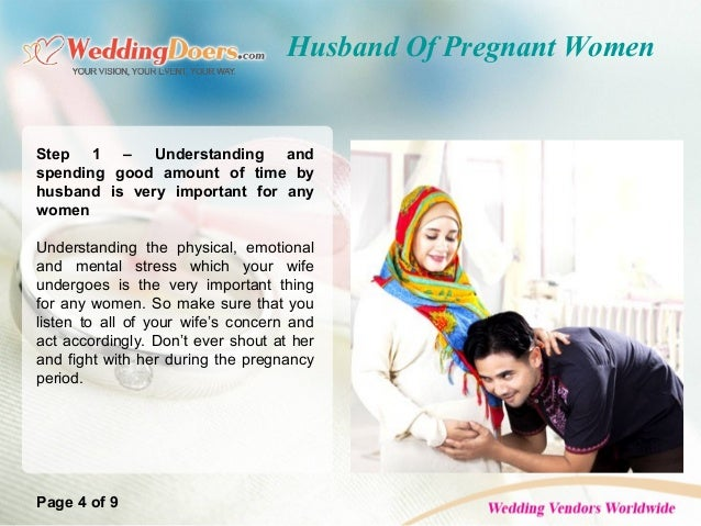 Husband Of Pregnant Women