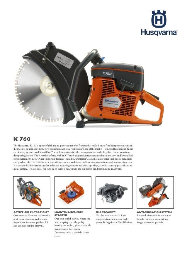 0822-1729-4199 | Jual Power Cutter Husqvarna K760 ||