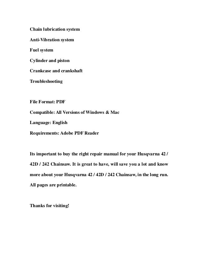 2007 husqvarna factory service shop manual download