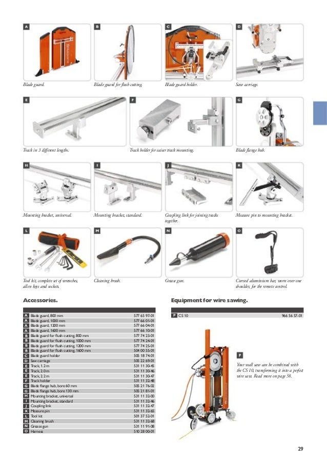 husqvarna construction catalog rh slideshare net Husqvarna Chainsaw Manual Husqvarna Wheeled String Trimmer
