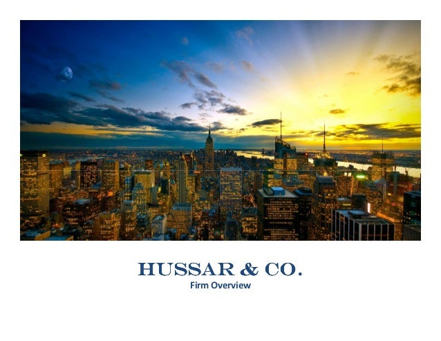 Hussar & Co.   Firm Overview