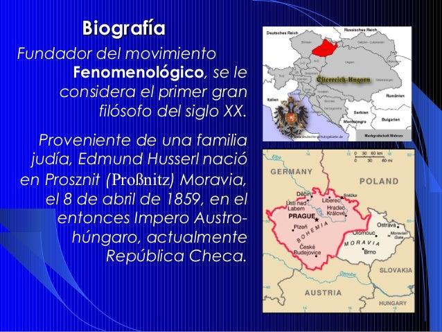 Husserl y la Fenomenología Slide 2