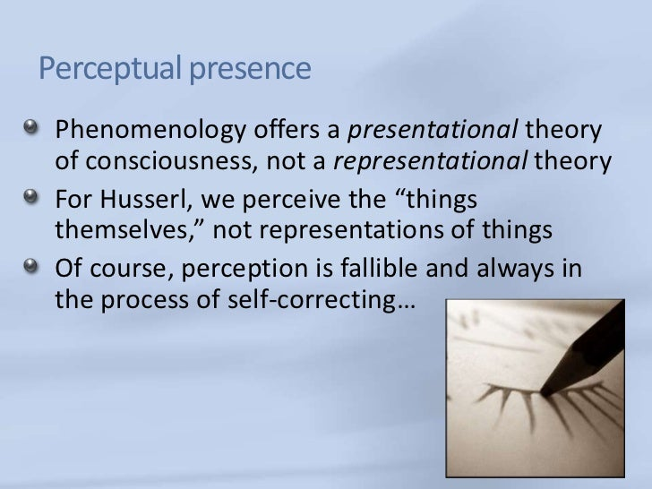 phenomenological psychology theory research and method