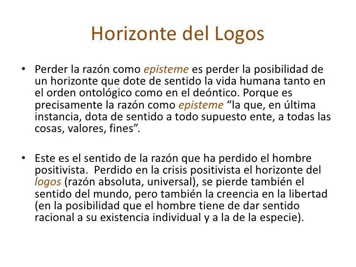 Husserl vs la crisis de la raz n 2010 for Que quiere decir contemporaneo