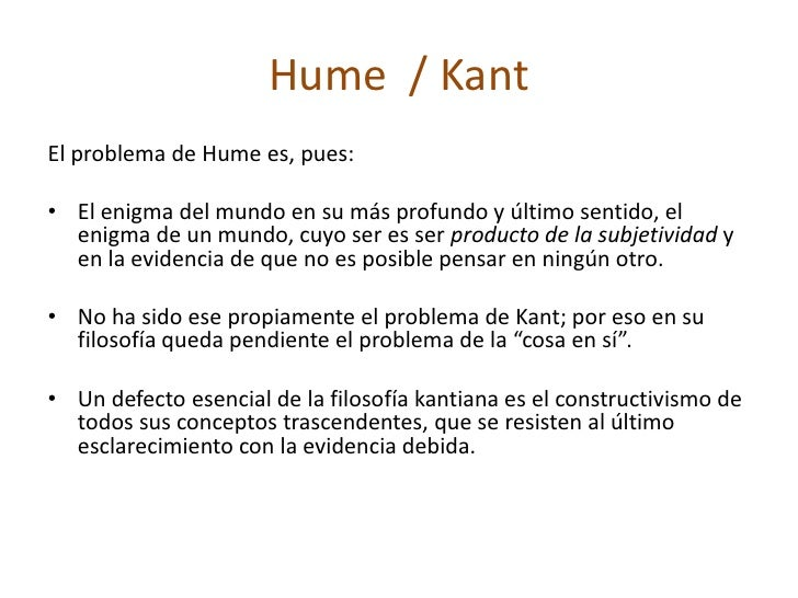 hume vs kant causality Hume on causation - download as pdf file (pdf), text file (txt) or read online  find against hume and for kant as to the primitiveness the qualities which.