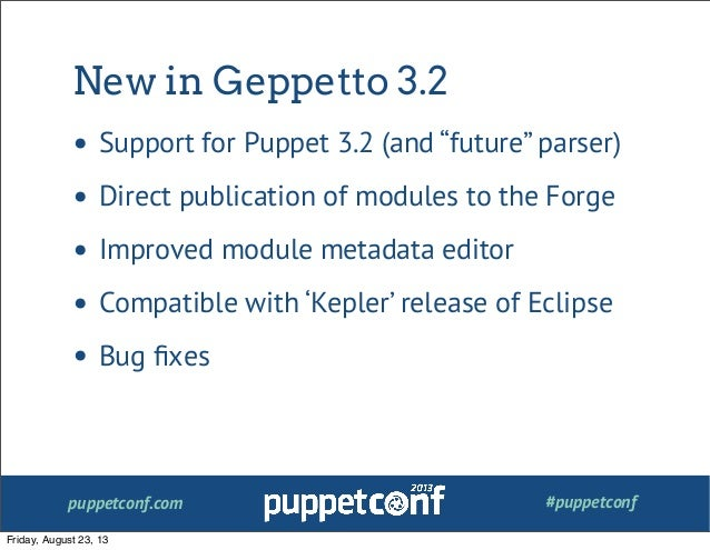 how to use puppet modules