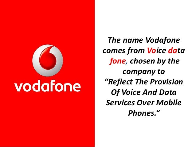 strategy of vodafone Vodafone's main motive in going in for the deal was its strategy of expanding into emerging and high growth markets like india to download the hutchison essar acquisition: vodafone's foray into an emerging market case study (case code.