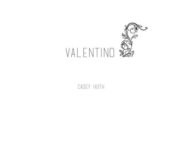 Valentino case study