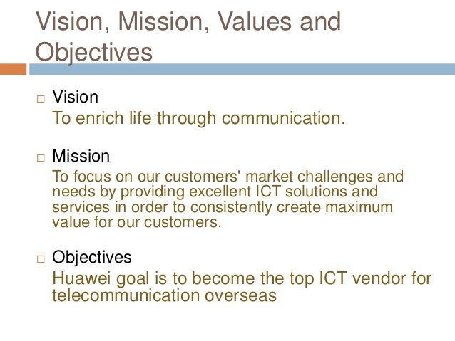 vision mission goals objectives of itc ltd Mission & vision our mission statement nestlé isthe world's leading nutrition, health and wellness company our mission of good food, good life is to provide.