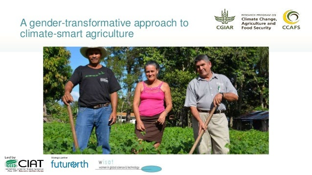 A gender-transformative approach to climate-smart agriculture