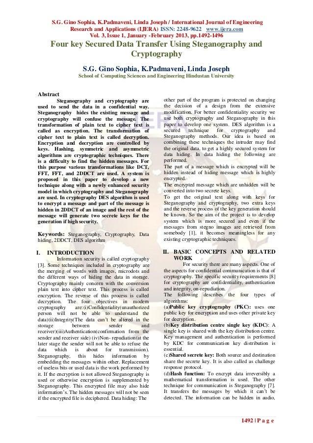 S.G. Gino Sophia, K.Padmaveni, Linda Joseph / International Journal of Engineering             Research and Applications (...