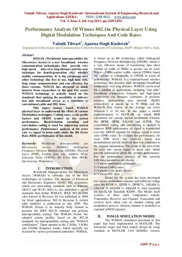 Valmik Tilwari, Aparna Singh Kushwah / International Journal of Engineering Research and Applications (IJERA) ISSN: 2248-9...