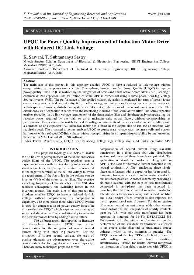 K. Sravani et al Int. Journal of Engineering Research and Applications ISSN : 2248-9622, Vol. 3, Issue 6, Nov-Dec 2013, pp...