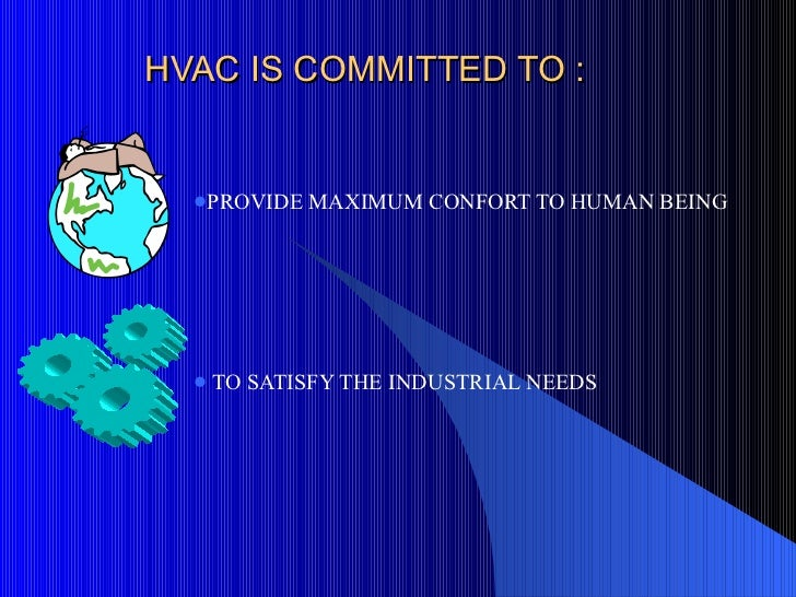 Hvac presentation for beginers