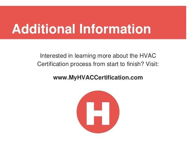 Hvac Certification Guide