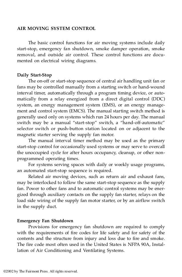 Hvac Controls Operation And Maintenance 3rd Edition G W Gupton