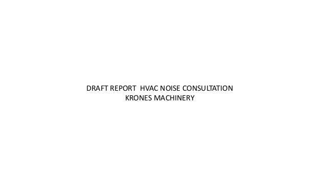 HVAC Noise Control Consultation Slide 2