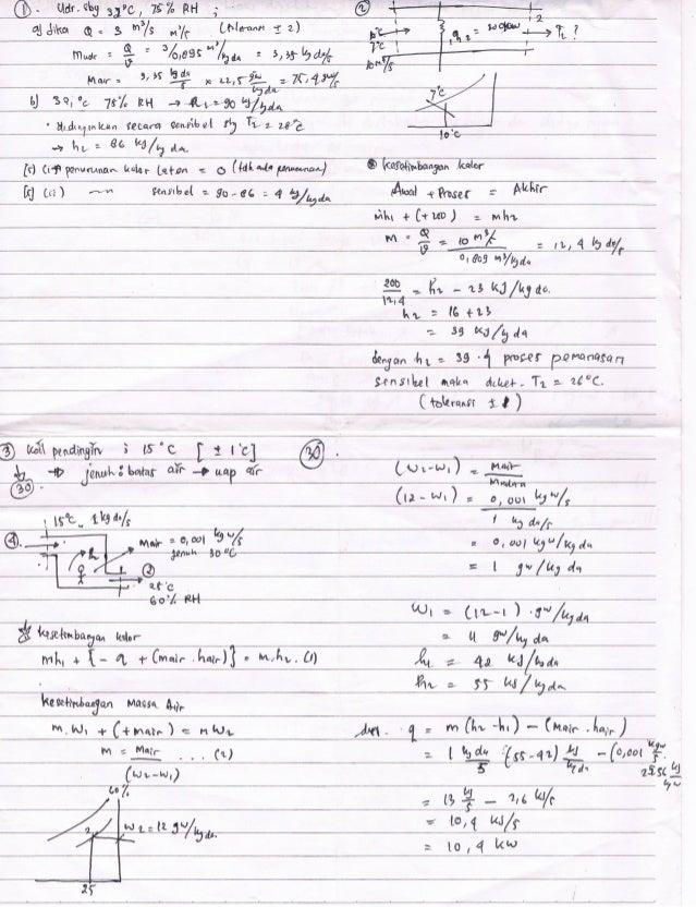 [Hvac] quis 1 answer sheet