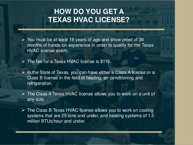 A Guide to HVAC Certification in Texas