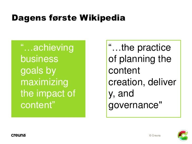 """Dagens anden Wikipedia """"…information     """"…digital infor- and experiences    mation and that may provide   experiences th..."""