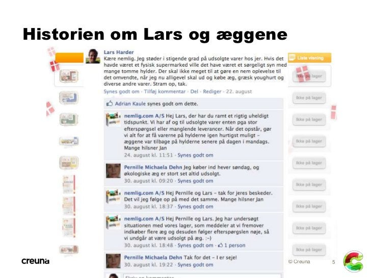 Historien om Lars og æggene                              © Creuna   5