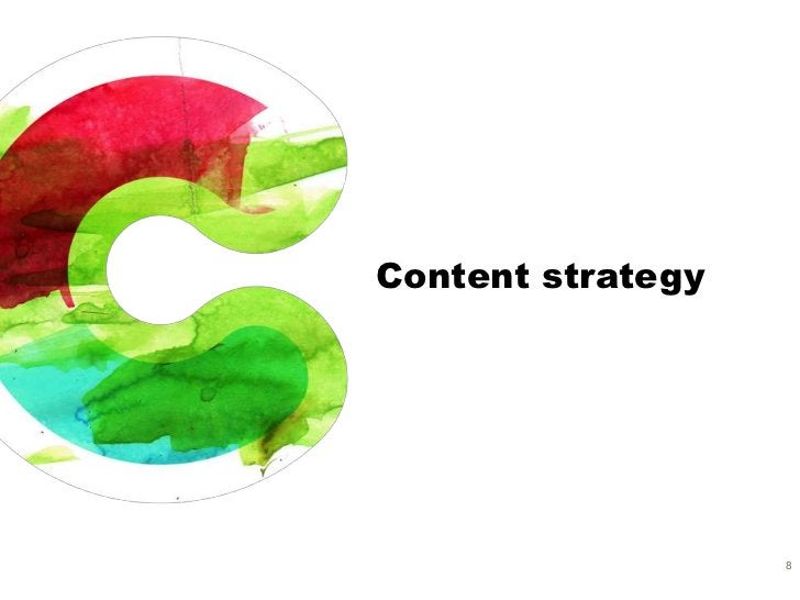 Content strategy                   8