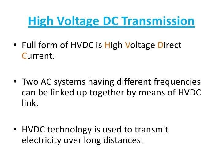 HVDC presentation