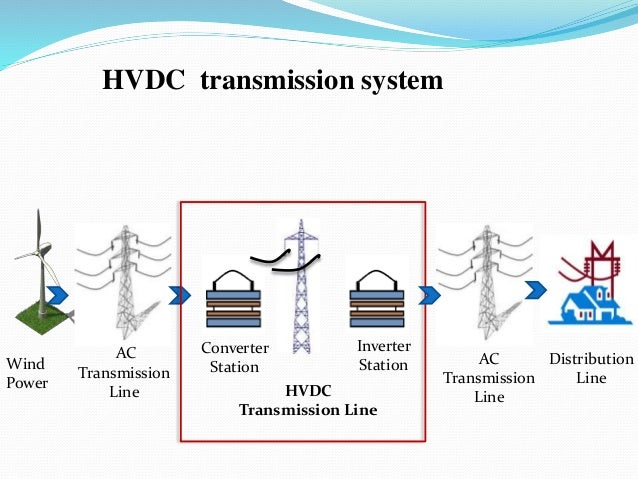 comparison of hvdc and hvac transmission systems Hvdc technology made possible to transfer bulk power over long distances this paper presents a comparative evaluation of hvdc and hvac transmission.