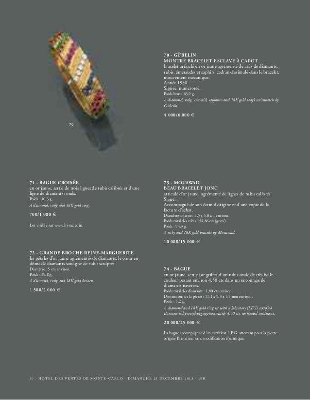 76  77  78  79  81 80  HÔTEL DES VENTES DE MONTE-CARLO - DIMANCHE 15 DÉCEMBRE 2013 - 15H - 33