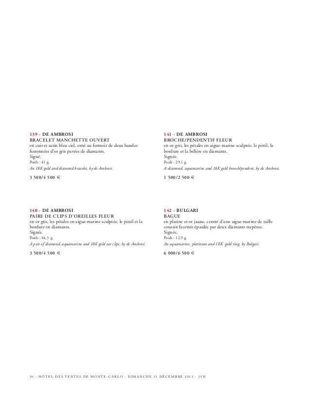 147  148 149  HÔTEL DES VENTES DE MONTE-CARLO - DIMANCHE 15 DÉCEMBRE 2013 - 15H - 61