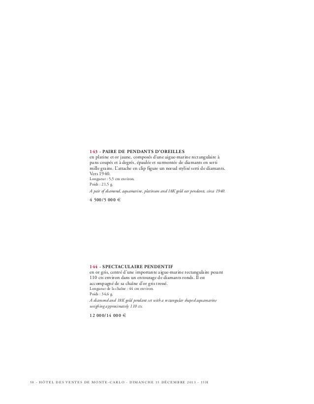 151  152  153  154  HÔTEL DES VENTES DE MONTE-CARLO - DIMANCHE 15 DÉCEMBRE 2013 - 15H - 63